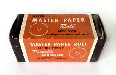 Masterroll